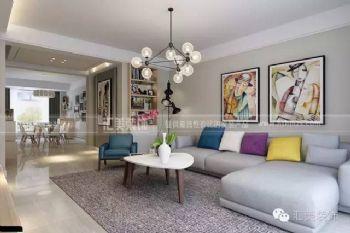 三江尊园143㎡现代风格现代风格三居室