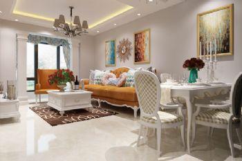 星城国际现代风格二居室