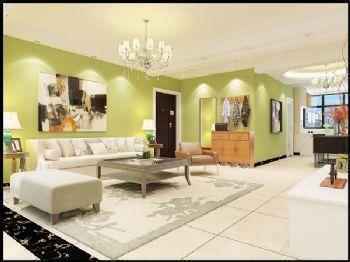 万和城地中海风格二居室