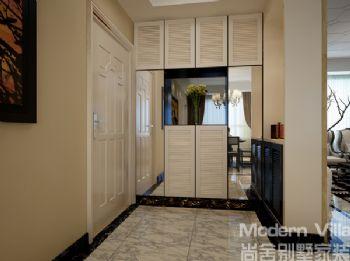 名士豪庭126平三居室新古典古典风格