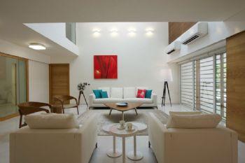 现代简约双层小别墅设计