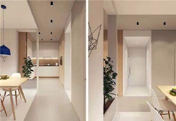 康桥现代风格二居室