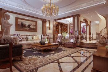莱芜世纪城美式风格别墅