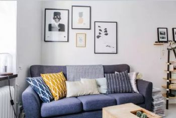 兰州实景案例图 小户型60㎡清新简约北欧风公寓简约风格小户型