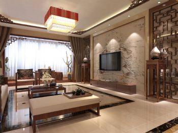 邯郸实创装饰美的166㎡ 中式风格中式风格大户型