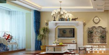 【兰州实创装饰】朝阳小区130㎡元素混搭也可以安逸简约风格二居室