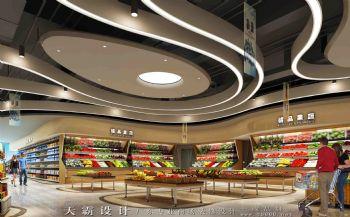 兼备个性化人性化的商场设计效果图