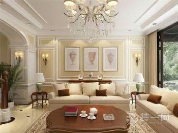 【龙发装饰】橡树湾美式风格三居室