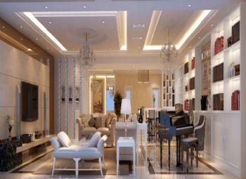 160平米浪漫欧式四居设计案例