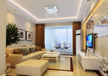 124平米现代三居设计图