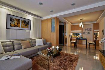 现代简约三居装修案例欣赏