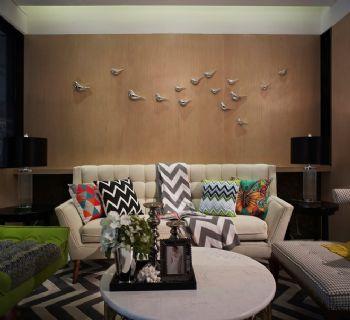 49㎡现代时尚单身公寓设计欣赏