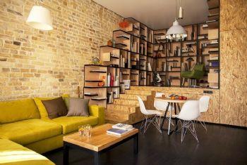 复古开放型公寓设计案例
