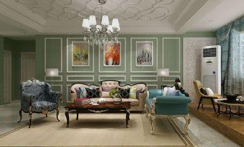 欧式古典四居装修设计图