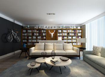高雅品位 暗色系北欧家居设计