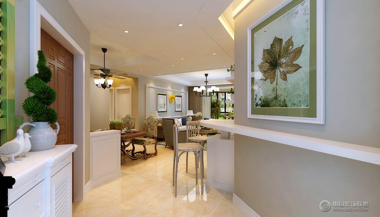 盛世名筑130平米现代美式风格-餐厅装修图片
