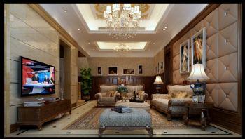 欧式风格别墅软装设计案例