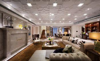 天巒湖二期頂層復式樣板間設計