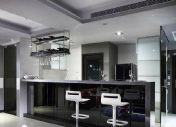 二室二廳現代公寓裝修現代廚房裝修圖片