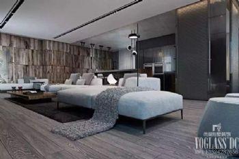 低调奢华灰色系公寓设计