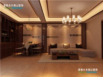 新中式风格中式风格二居室