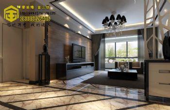 御景园138现代风格现代风格三居室