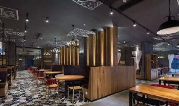 广东花美城创意餐厅设计