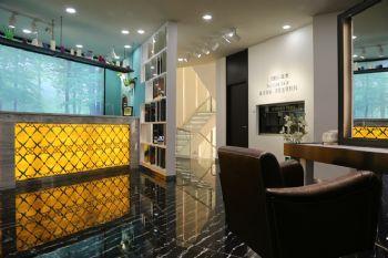 美发造型机构空间设计案例美容美发装修图片