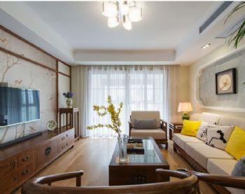 海上海-3室2厅1厨2卫-现代简约-91平米现代风格三居室