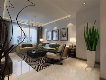 远创紫樾台3现代风格三居室