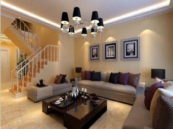 远创紫樾台4现代风格三居室