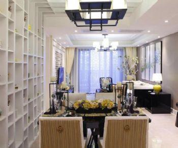 升龙城-中式古典古典风格三居室