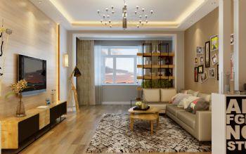 简洁大方现代两居室 清新别致的美家现代风格二居室