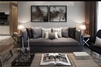 宏泰龙邸现代风格四居室
