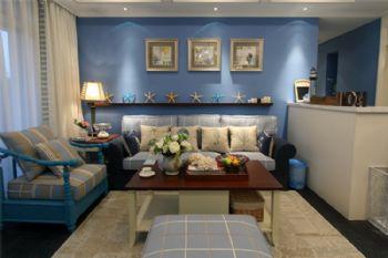 伯爵山1地中海风格三居室