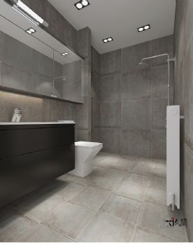 【久栖设计】北京果岭里class底商办公空间设计 工业主义风格办公室装修图片