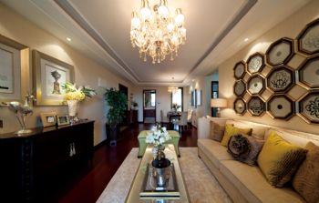 中科紫峰中式风格三居室