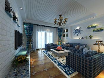 汇景轩地中海风格三居室