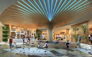 河北商场装修设计效果图案例展示:嘉和众美商城设计效果图