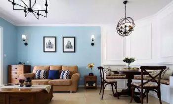 【兰州实创装饰】95㎡现代美式风【完美家装】美式风格二居室
