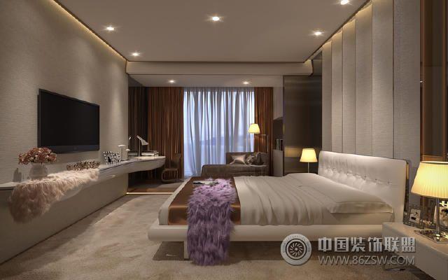 极简主义风格案例-卧室装修图片