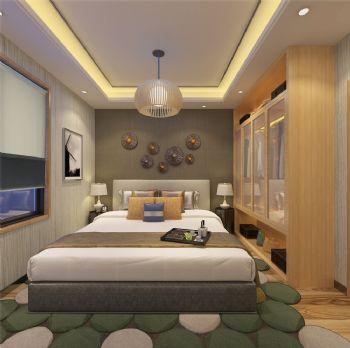 沁园春 居现代样板间-卧室装修图片
