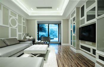 龙邸花苑1现代风格三居室