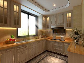 240平米新中式风格别墅设计图中式厨房装修图片