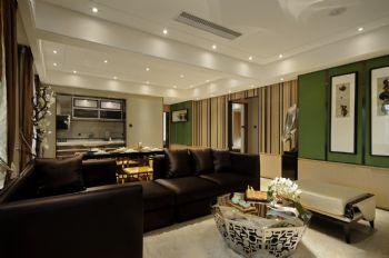 海润印象1现代风格三居室