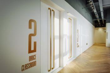 舞蹈培训教室设计案例学校装修图片