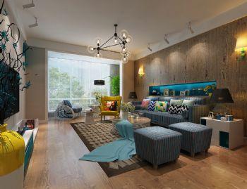中科紫枫现代风格三居室