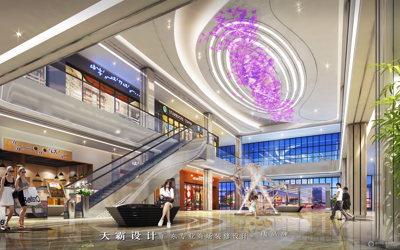 購物中心裝修創意設計效果圖運用特色文化元素商場裝修圖片