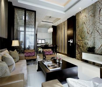 香邑廊桥中式风格三居室