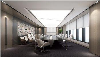 青岛办公大楼设计案例写字楼装修图片